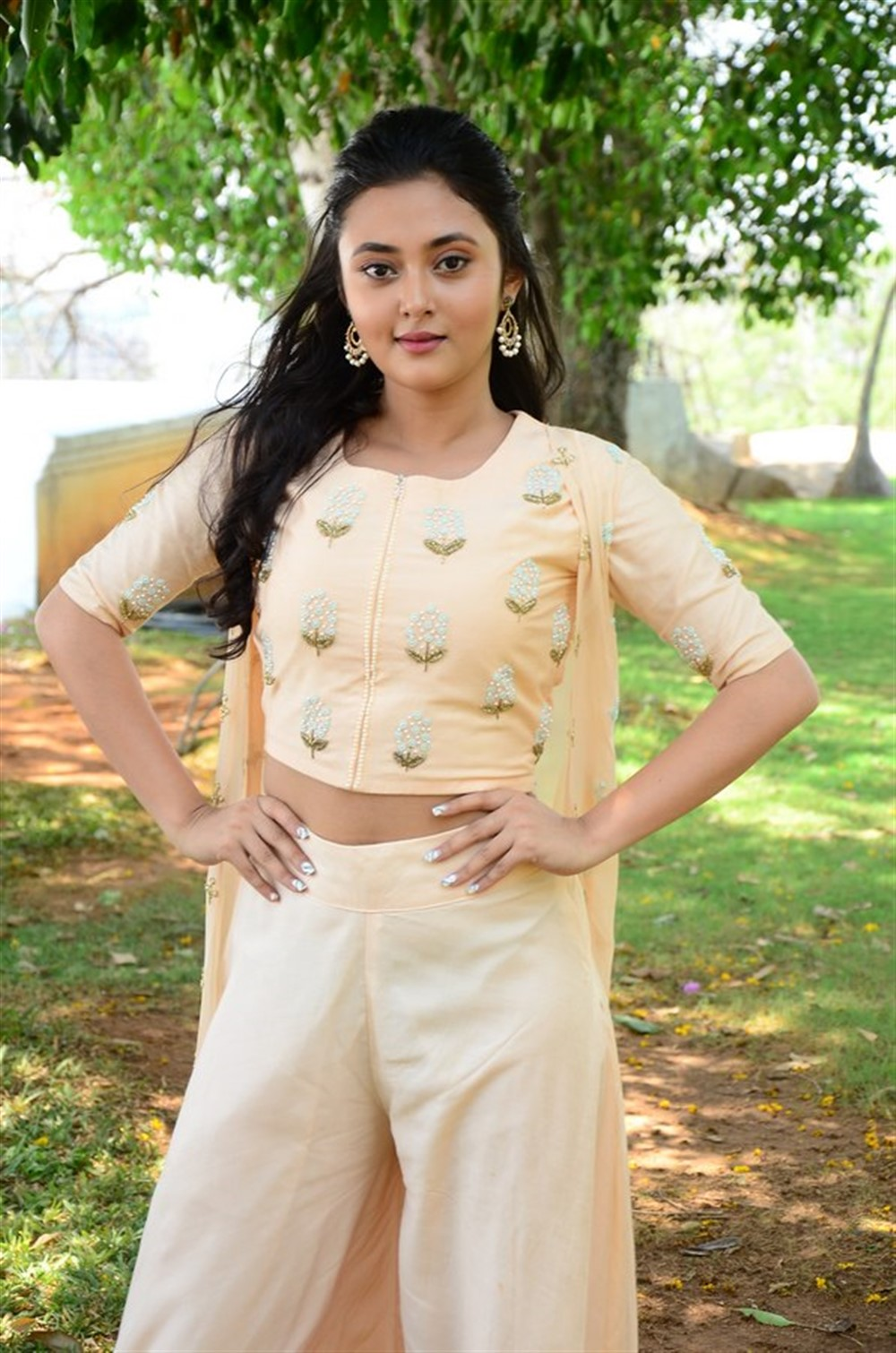 Actress Megha Chowdhary Pictures @ Marshal Movie Teaser Launch