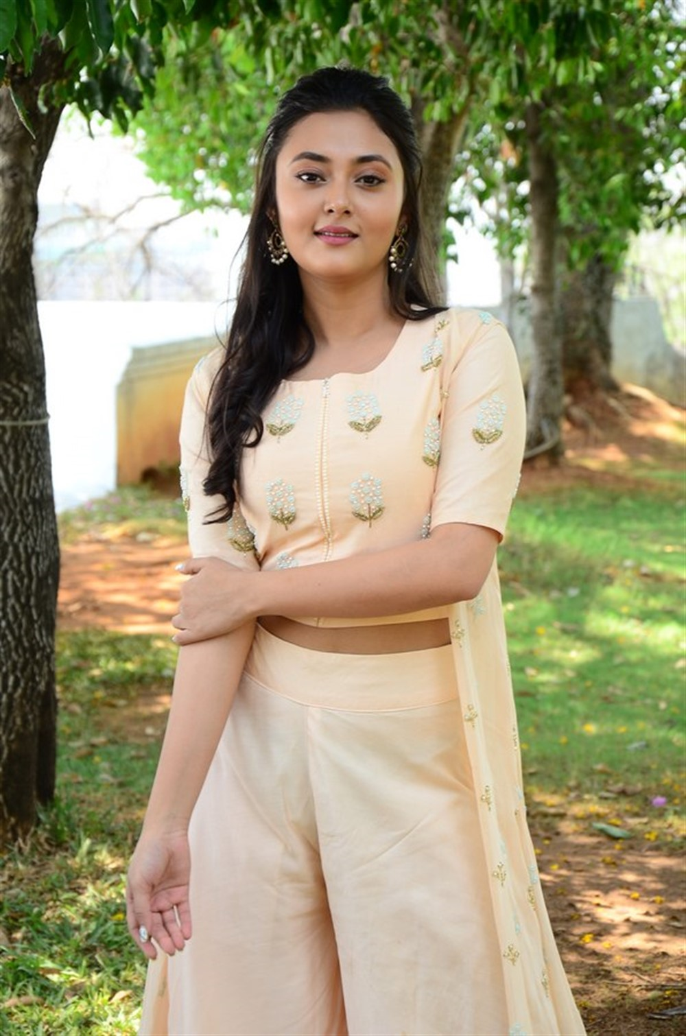 Actress Megha Choudhary Pictures @ Marshal Movie Teaser Launch
