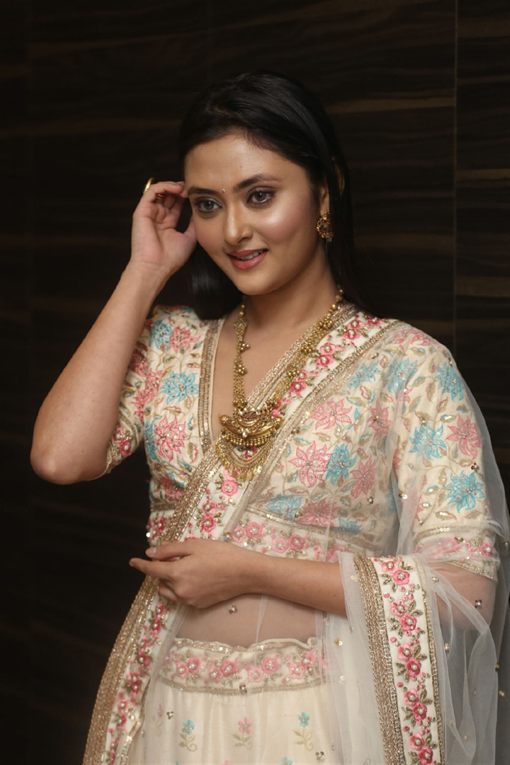 Actress Megha Chowdhury Images @ Marshal Movie Pre Release