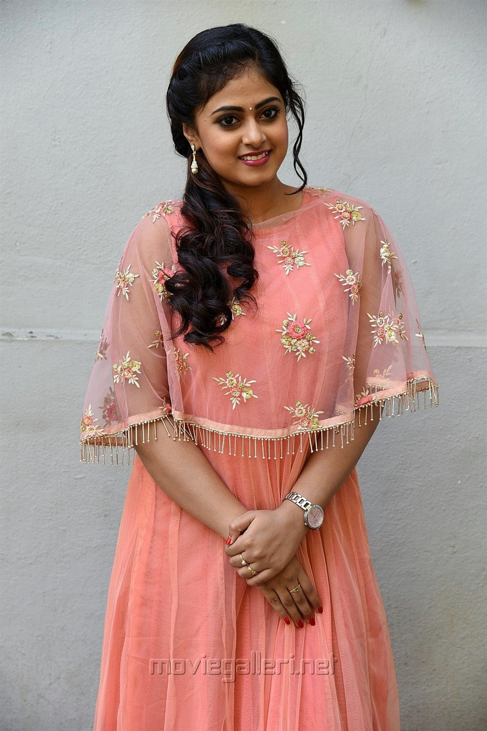 Actress Megha Sri Images @ Amrutha Varshini Movie Opening