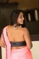 Telugu Actress Meghana Chowdary Hot Saree Images