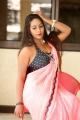 Telugu Actress Meghana Chowdary Saree Images