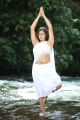 Meghana Raj Hot Wet Stills In Jakkamma