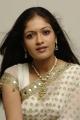 Telugu Actress Meghana Raj White Saree Photoshoot Stills