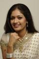 Meghna Sundar Raj in White Saree Photoshoot Stills
