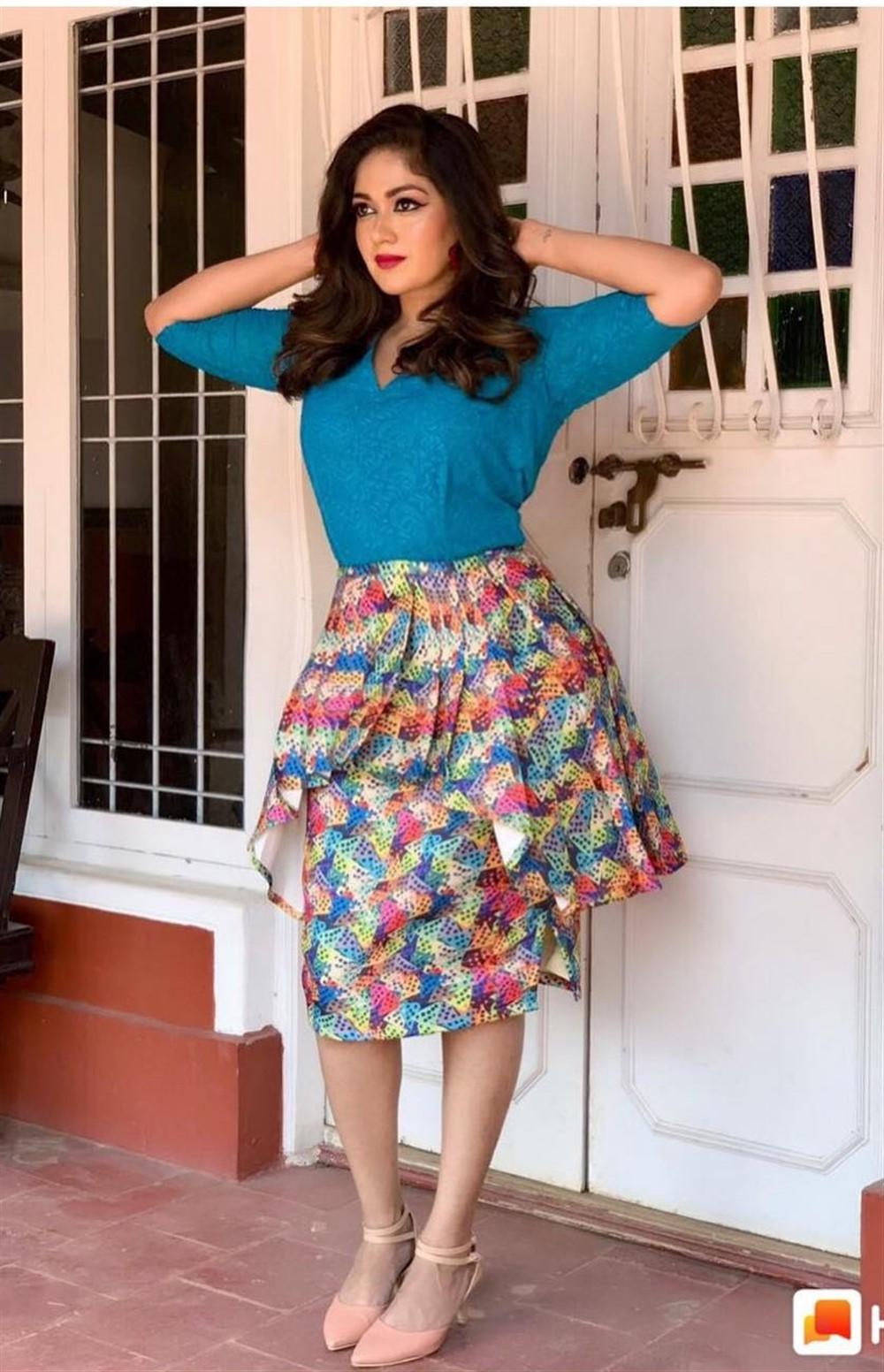 Actress Meghana Raj Latest Photoshoot Images