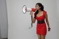 Meghana Raj Latest Hot Photo Shoot Stills in Red Frock