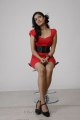 Meghana Raj Latest Hot Photo Shoot Stills in Red Frock