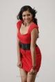 Actress Meghana Raj Spicy Hot Photo Shoot Stills in Red Dress