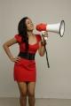 Meghna Sundar Raj Hot Photo Shoot Stills in Red Frock