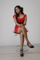 Meghna Raj Hot Photos in Red Frock