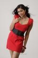 Actress Meghana Raj Hot Photo Shoot Stills in Red Dress