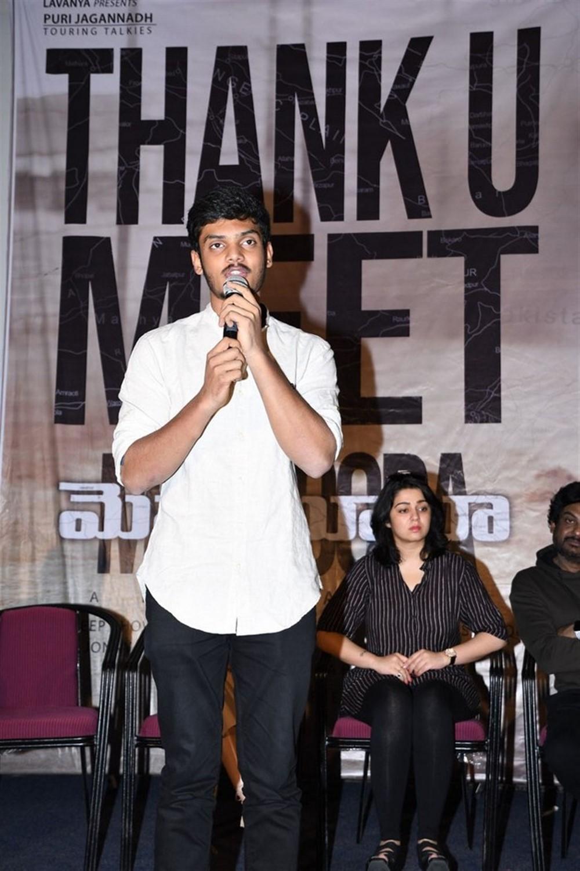 Actor Akash Puri @ Mehbooba Thank You Meet Photos