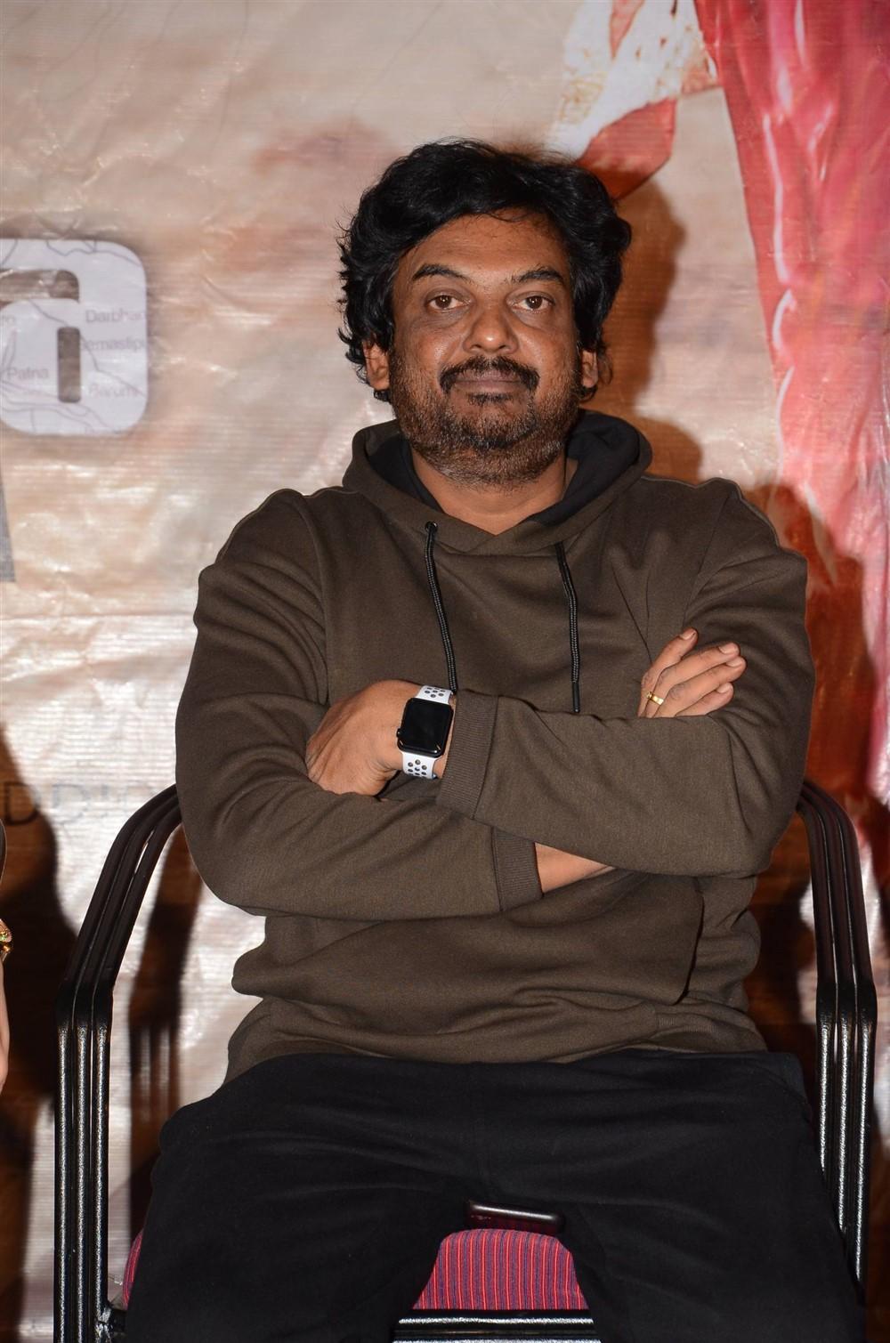 Director Puri Jagannadh @ Mehbooba Thank You Meet Photos