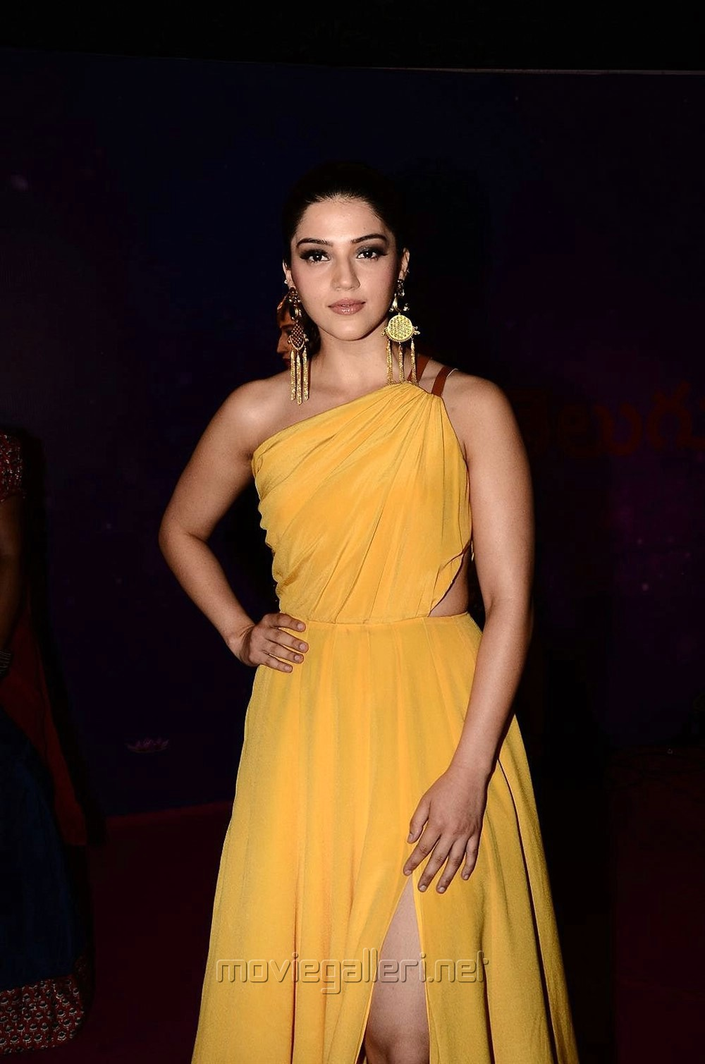 Actress Mehreen Kaur Stills @ Zee Apsara Awards 2018 Red Carpet