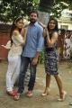 Sanyathara, Sanjay, Risha @ Mei Maranthen Movie Trailer Launch Stills
