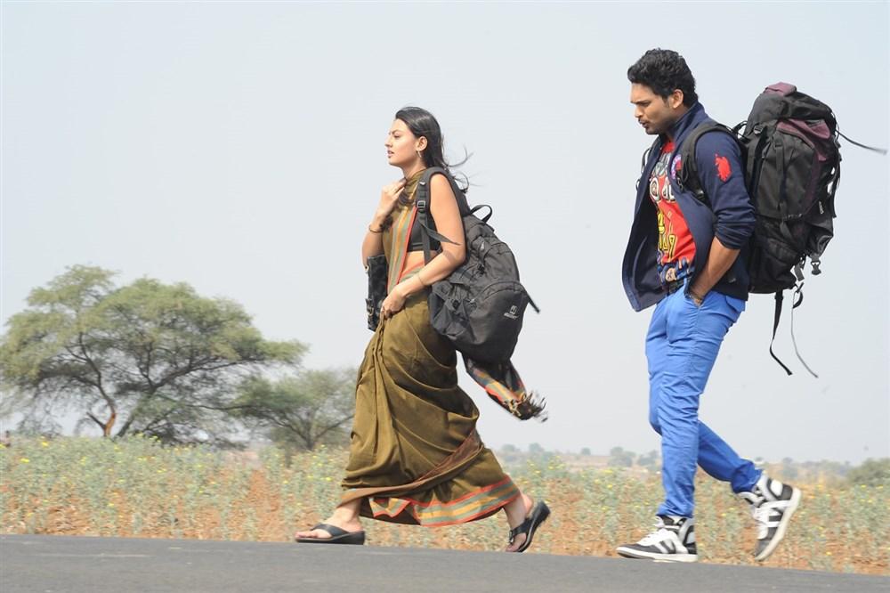 Ajmal Ameer, Nikitha Narayan in Mella Thiranthathu Manasu Tamil Movie Images