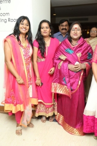 Vanishree @ Memories & Reflections Paintng Exhibition by Artist P.Rajasekhar Photos