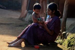 Actress Gayathri Krishna in Merku Thodarchi Malai Movie Stills