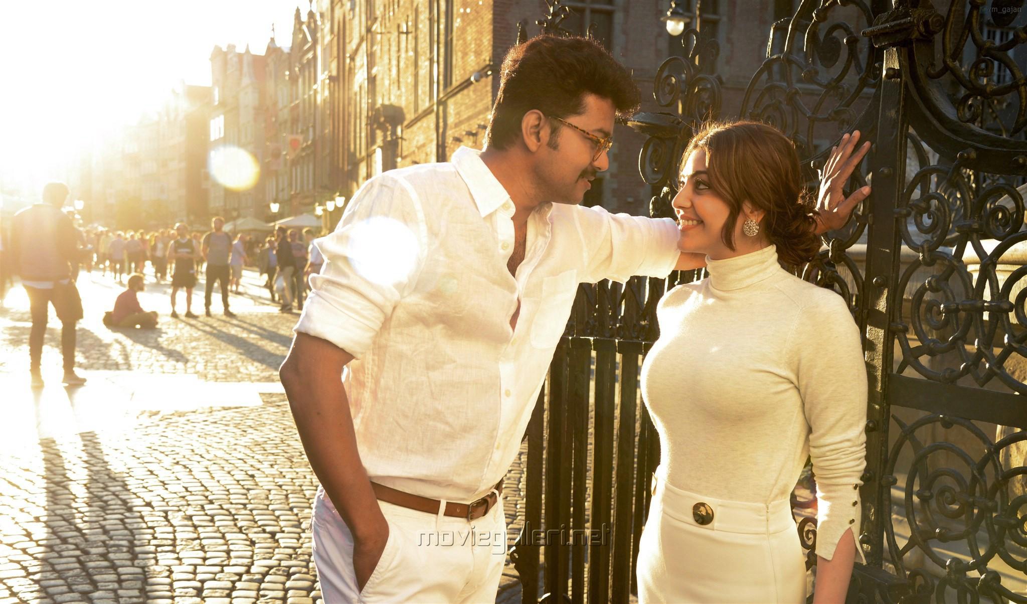 Mersal Movie Hd Stills Vijay Samantha Kajal Agarwal New Movie Posters