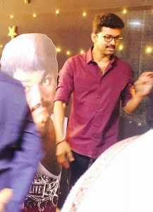 Actor Vijay @ Mersal Music Release Images