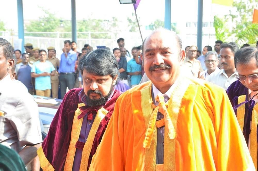 Doctorate to Film Star Actor Vijayakumar & Director Vikraman by MGR Research & Educational University