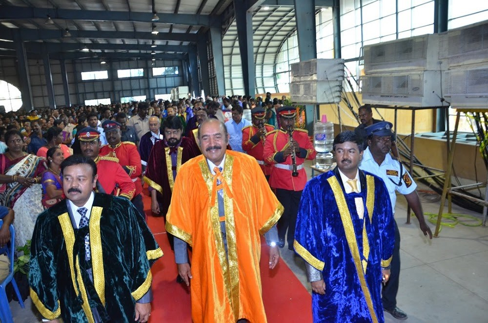 Doctorate to Film Star Actor Vijayakumar & Director Vikraman by MGR Research & Educational University