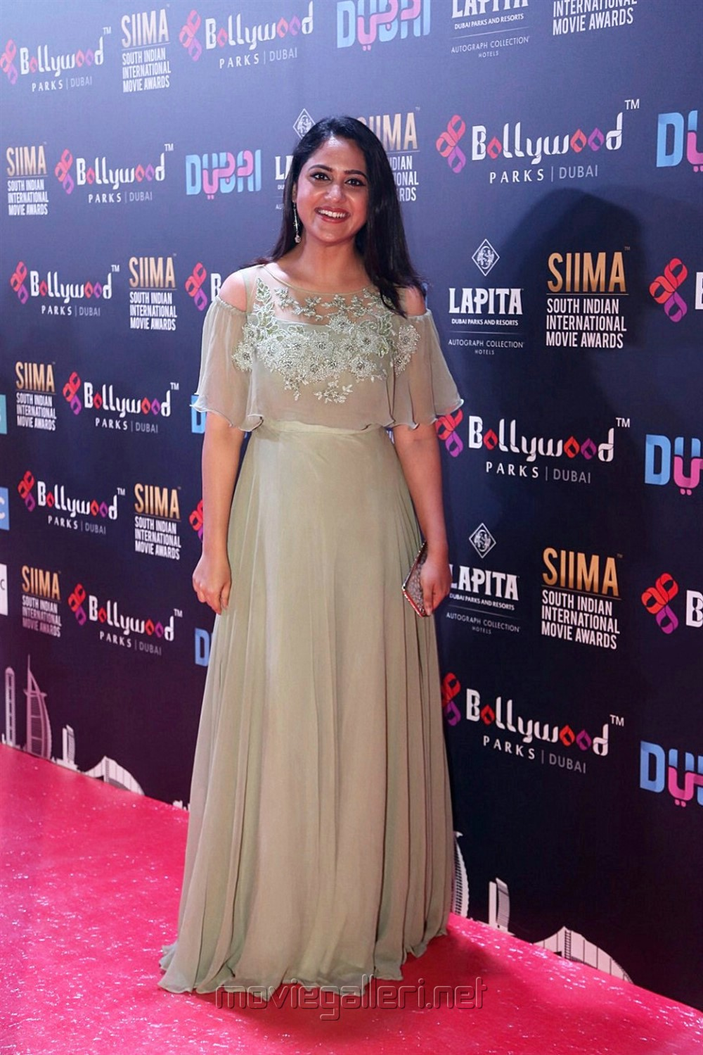 Actress Mia George Latest Pictures @ SIIMA Awards 2018 Red Carpet (Day 1)