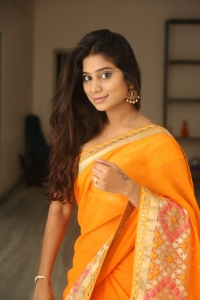 Telugu Actress Mithuna Saree Hot Photos