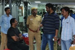 Seeman, Suresh Kamatchi @ Miga Miga Avasaram Movie Working Images HD