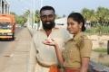 Actress Sri Priyanka in Miga Miga Avasaram Movie Stills