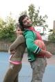 Vinay, Sharmila in Mirattal Movie Stills