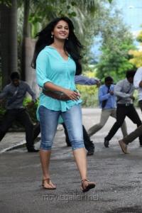 Actress Anushka Shetty in Mirchi Images