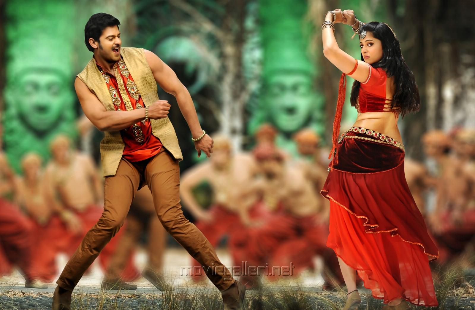 Picture 395135 | Prabhas, Anushka Hot in Mirchi Movie HD ...