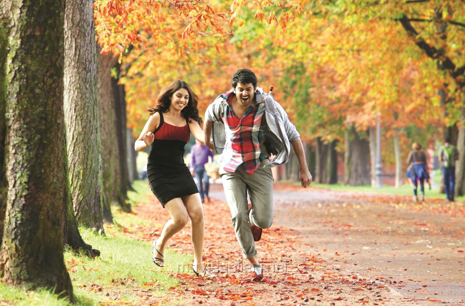 Richa Gangopadhyay, Prabhas in Mirchi Movie Latest Photos