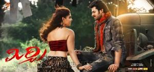 Hot Richa Gangopadhyay, Prabhas in Mirchi Movie Wallpapers