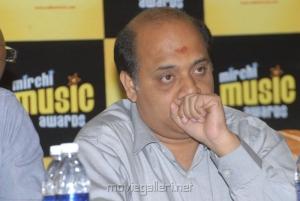 Lyricist Rama Jhogaya Sastry at South Mirchi Music Awards 2011 Press Meet Stills
