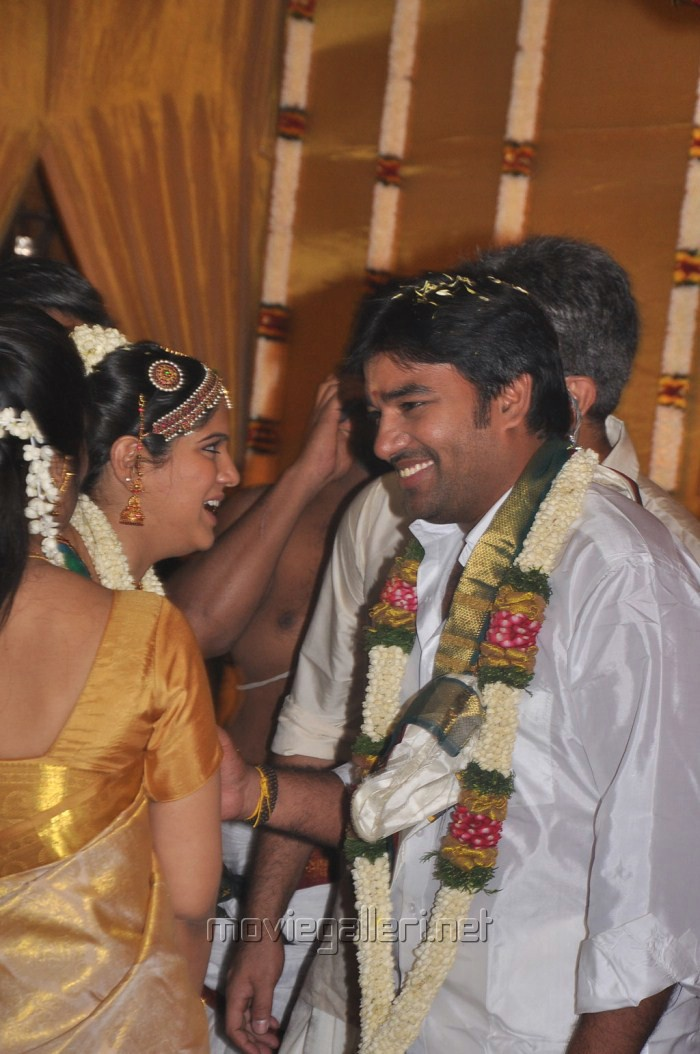 Actor Shiva - Priya Marriage Photos
