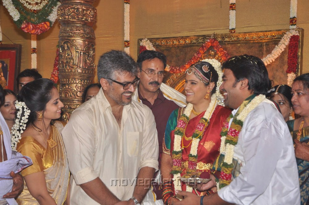... | Ajith Kumar at Mirchi Shiva Marriage Photos | New Movie Posters