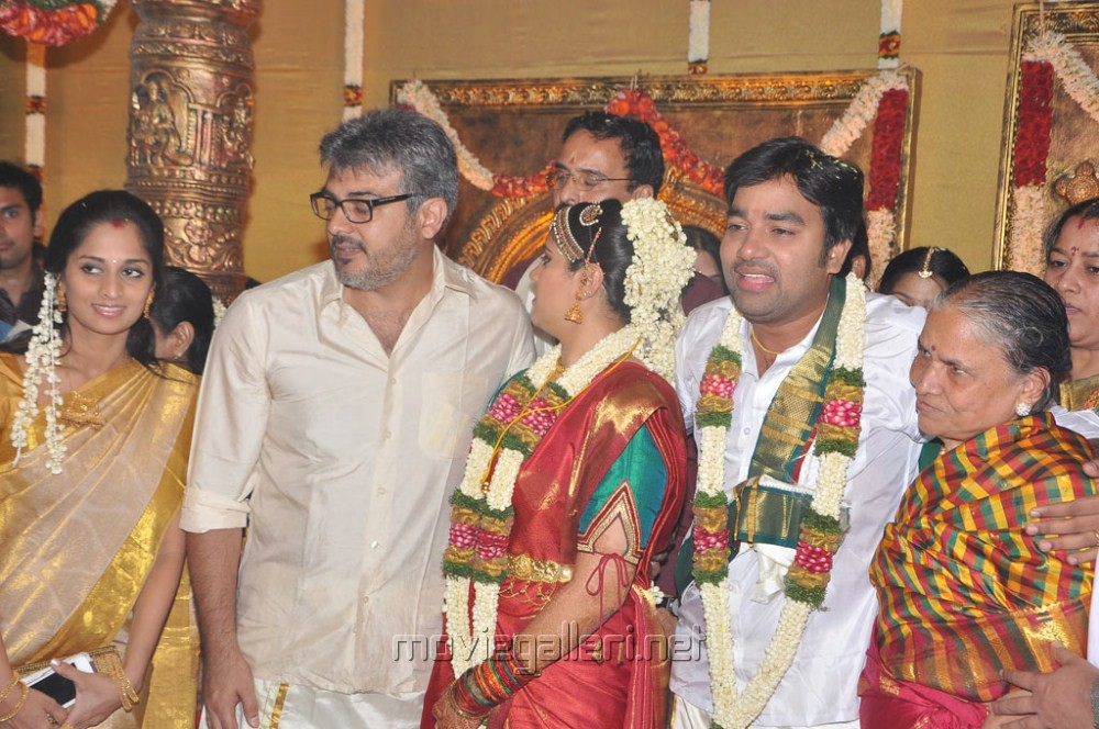 Shalini Ajith At Actor Shiva Marriage Images