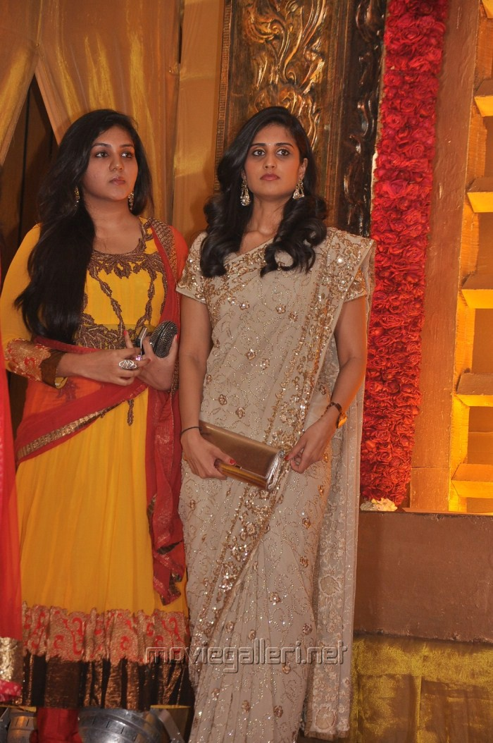 Actress Shamili at Mirchi Shiva Wedding Reception Photos