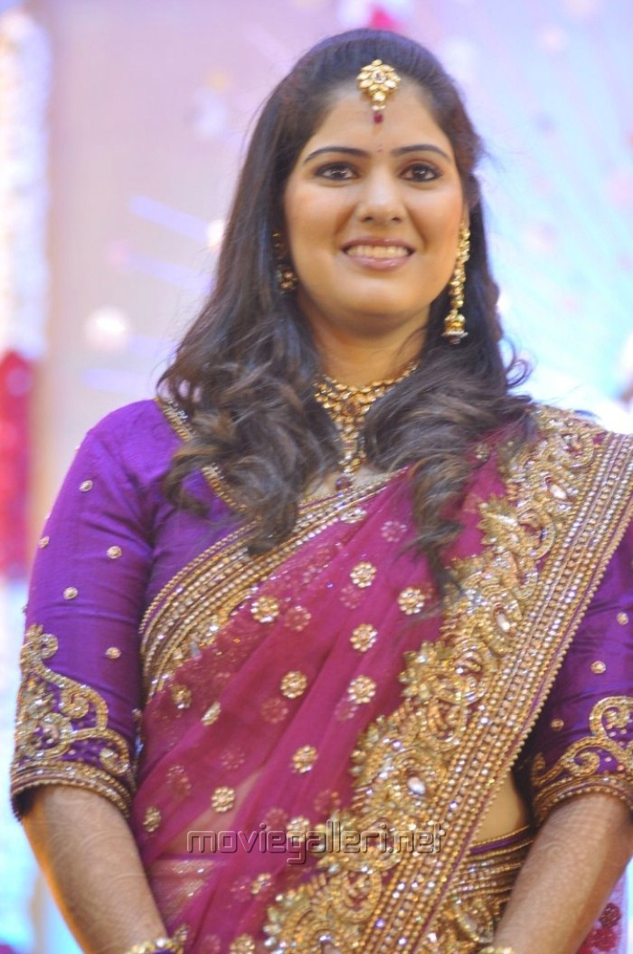 Actor Mirchi Shiva Wife Priya Wedding Reception Photos