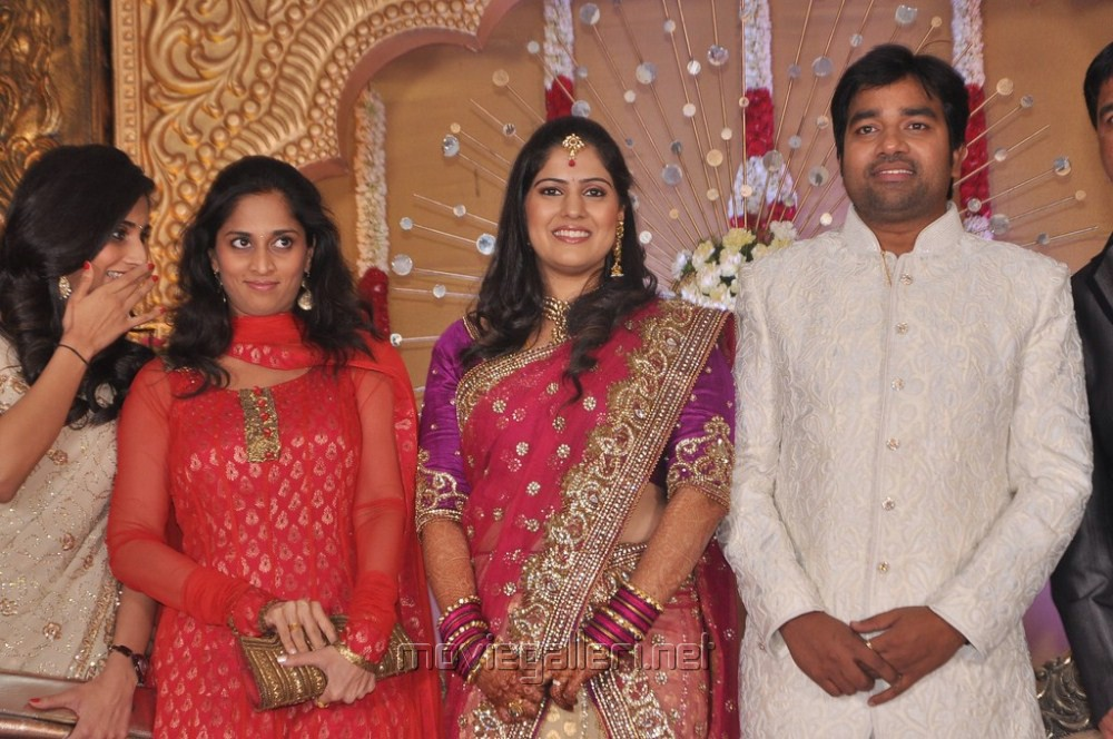 Shalini Ajithkumar at Mirchi Shiva Wedding Reception Stills