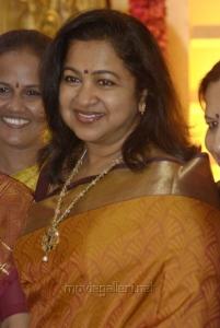 Raadhika at Mirchi Shiva Wedding Reception Photos