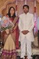 Actor Mirchi Shiva - Priya Wedding Reception Photos