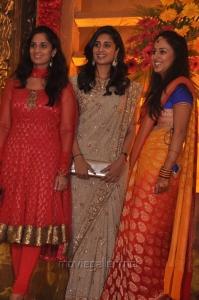Shamili, Shalini at Mirchi Shiva Wedding Reception Photos