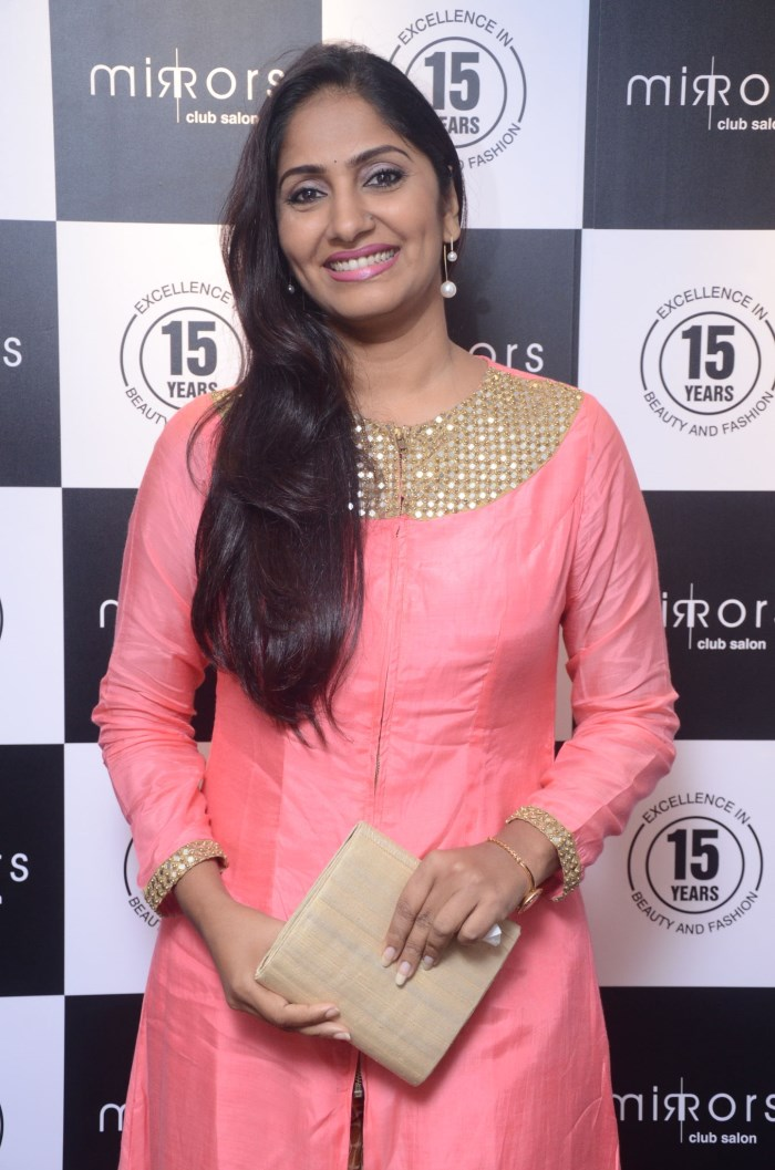 Anchor Jhansi Lakshmi @ Mirrors Club Salon Launch @ Banjara Hills, Hyderabad
