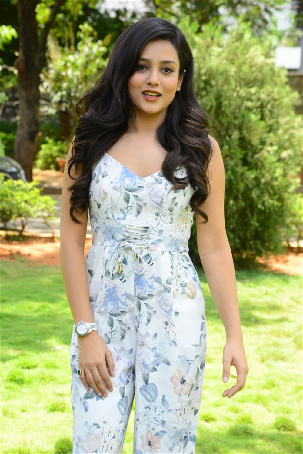 Actress Mishti Chakraborty Cute Stills @ Burra Katha Teaser Launch