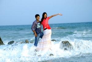 Darshan, Vinny in Missed Call Telugu Movie Stills