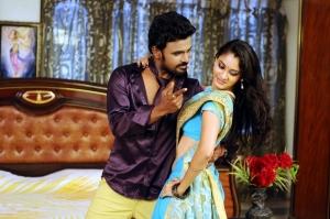 Abhinay, Radhika in Missed Call Telugu Movie Stills